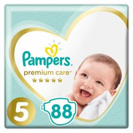Pampers Premium Care Junior Размер 5 (11-16 кг), 88 шт