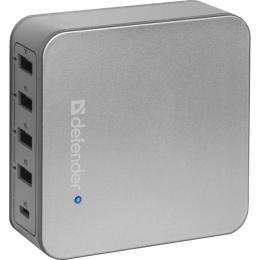 Defender UPA-50 4 порта USB, 5V / 5A