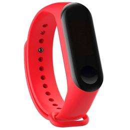 BeCover Silicone для Xiaomi Mi Band 3/4 Red
