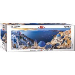 EuroGraphics Санторини, Греция, 1000 элементов панорамный