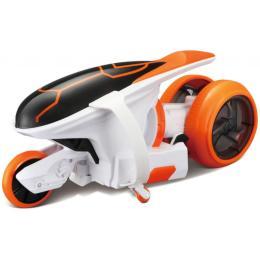 Maisto Мотоцикл Cyklone 360 оранжево-белый