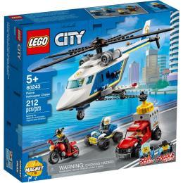 LEGO City Police Погоня на полицейском вертолёте 212 де