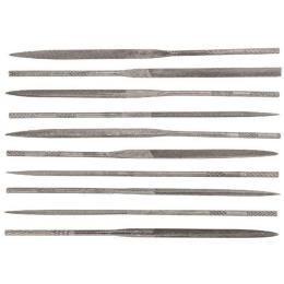 Topex игольчатые по металлу набор 10 шт.