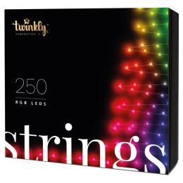 Twinkly Smart LED Strings RGB 250, BT + WiFi, Gen II, IP44