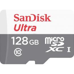 SANDISK 128GB microSDHC class 10 UHS-I Ultra