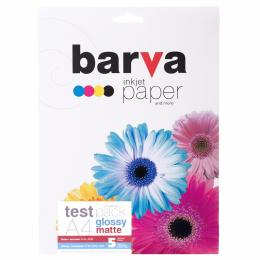 BARVA A4 test pack glossy&matte