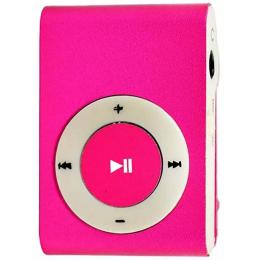 Without display&Earphone Mp3 Pink