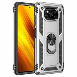 BeCover Military Xiaomi Poco X3 Silver