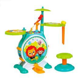 Hola Toys барабанная установка