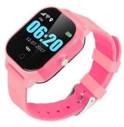 GoGPS К23 Pink Детские телефон-часы с GPS треккером