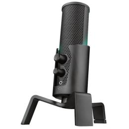 Trust GXT 258 Fyru USB 4-in-1 Streaming Microphone Black