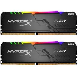 Kingston DDR4 16GB (2x8GB) 3200 MHz HyperX FURY RGB