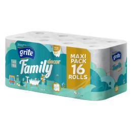 Grite Family Decor 3 слоя 16 рулонов