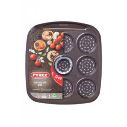 Pyrex Asimetria мини-pizza 9 ячеек