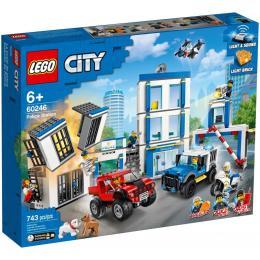 LEGO City Police Полицейский участок 743 детали