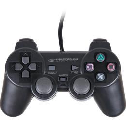 Esperanza Vibration gamepad PS2/PS3/PC USB