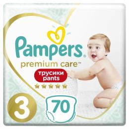 Pampers Premium Care Pants Midi Размер 3 (6-11 кг), 70 шт