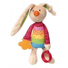 sigikid Кролик с погремушкой 26 см