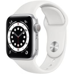 Apple Watch Series 6 GPS, 40mm Silver Aluminium Case wit