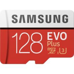 Samsung 128GB microSDXC class 10 UHS-I EVO Plus