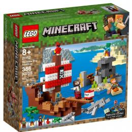 LEGO MINECRAFT Приключения на пиратском корабле 386 дет