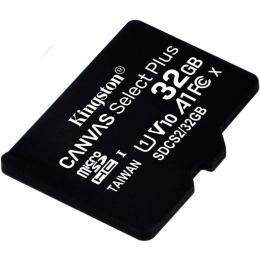 Kingston 32GB microSDHC class 10 UHS-I A1 (R-100MB/s) Canv
