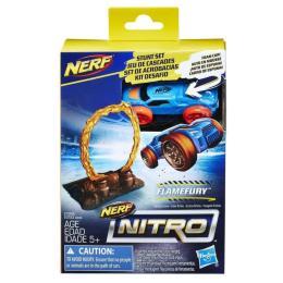 Nerf Nitro Препятствие и машинка
