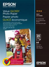 EPSON A4 Value Glossy Photo Paper