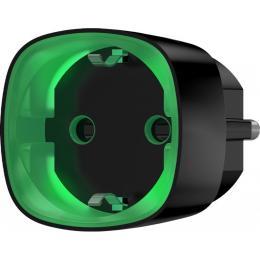 Ajax Socket Wi-Fi розетка с энергомониторингом черная