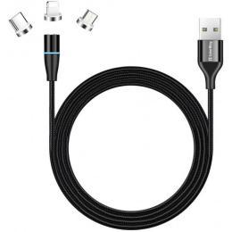 ColorWay USB 2.0 AM to Lightning + Micro 5P + Type-C 1.0m M