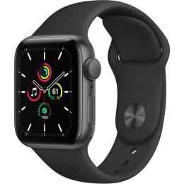 Apple Watch SE GPS, 40mm Space Gray Aluminium Case with
