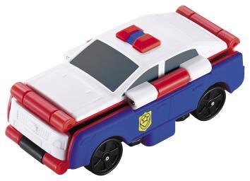 TransRacers 2-в-1 Полицейская машина & спорткар