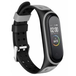 BeCover Colour Style для Xiaomi Mi Smart Band 5 Black-Gray