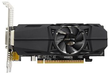 GIGABYTE GeForce GTX1050 Ti 4096Mb OC Low Profile