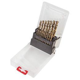 Verto HSS-G, 1.0 - 10.0 мм, 19 шт. по металлу