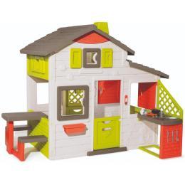 Smoby с летней кухней дверным звонком и столиком