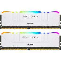 Micron DDR4 16GB (2x8GB) 3200 MHz Ballistix White RGB