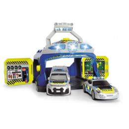 Dickie Toys Командный пункт полиции с 3 машинами