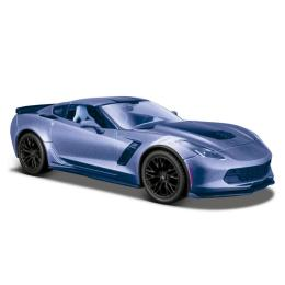 Maisto 2017 Corvette Grand Sport синий металлик (1:24)