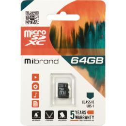 Mibrand 64GB microSDXC class 10 UHS-I