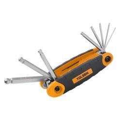 Tolsen шестигранных ключей 8 ед. 1.5-8 мм