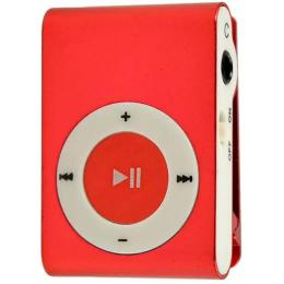 Without display&Earphone Mp3 Red