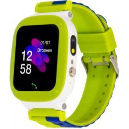 ATRIX iQ2200 IPS Cam Flash Green Kids smart watch-phone,