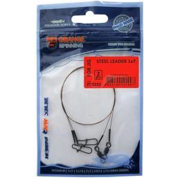 UKRSPIN Orange Spinning плетений сталь AFW 7х7 30см18кг(40