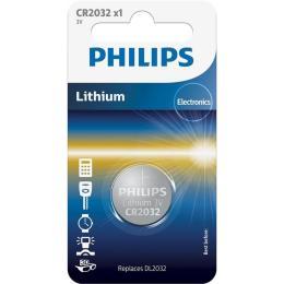 PHILIPS CR2032 Lithium * 1