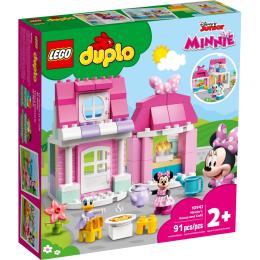LEGO DUPLO Disney Дом и кафе Минни 91 деталь
