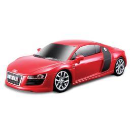Maisto Audi R8 V10 красный. Свет и звук (1:24)
