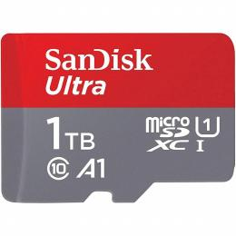 SANDISK 1TB microSDXC UHS-I Card A1 Class 10