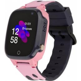 ATRIX iQ2100 IPS Cam Pink Kids smart watch-phone, GPS tr
