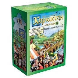 Hobby World Каркассон: Мосты, замки и базары (дополнение 8)